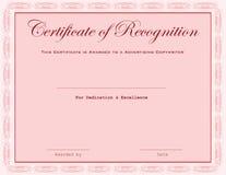 Certificate Advertising Copywriter Royalty Free Stock Photo