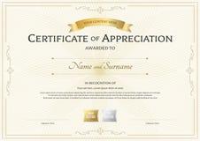 certificate appreciation template stock illustrations 2 889