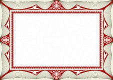 Certificate Background Royalty Free Stock Photos