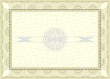 Certificate background vector illustration