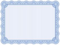 Certificate background Royalty Free Stock Photography