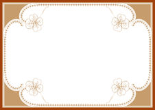 Certificate border Stock Images