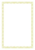 Certificate Border. Rectangle type of certificate or border royalty free illustration