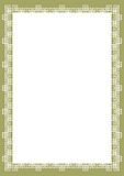 Certificate Border Royalty Free Stock Images