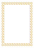 Certificate Border. Illustration of curve and rectangle type certificate or border stock illustration