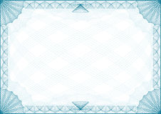 Certificate Border Letter Stock Photo