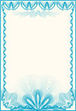 Certificate Border Letter Royalty Free Stock Photos