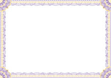 Certificate Border. Old and fancy certificate border great for awards etc Stock Photography