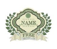 Certificate design. Certificate grafic design , vector illustration Stock Photo