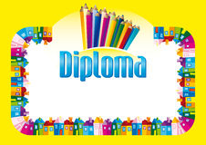 Certificate / Diploma Stock Photography