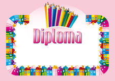 Certificate / Diploma Royalty Free Stock Photos
