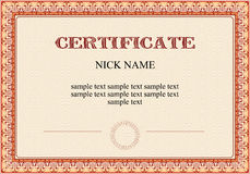 competency certificate template - certificate of competency royalty free stock photo image