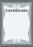 Certificate, Diploma template. Award pattern. Royalty Free Stock Photos