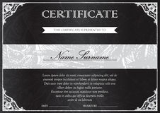 Certificate and diploma template Stock Photo