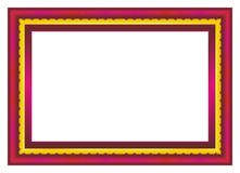 Diploma Frame. Certificate or diploma template with red and gold color, suitable for invitation, card, awward, thanks card, background, and other vector illustration