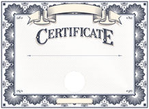 Certificate or Diploma Template Stock Photos