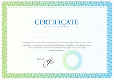 Certificate and diplomas template. Vector Royalty Free Stock Photos