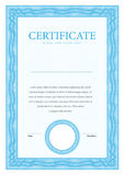 Certificate and diplomas template. Vector Stock Image