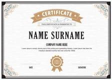 Certificate flourishes elegant template. Certificate flourishes elegant vector template vector illustration