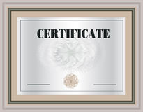 Certificate Frame Royalty Free Stock Photos