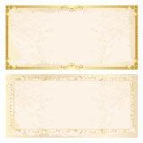 Certificate frame background Stock Photography