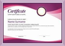 Certificate  frame - modern design template Stock Photography