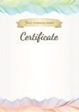 Certificate, graduate, diploma Stock Photos
