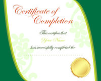 Certificate. Illustration of certificate border frame Royalty Free Stock Photography