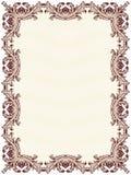 Certificate o espaço em branco Imagens de Stock Royalty Free