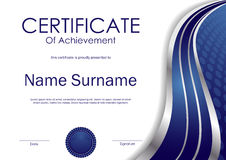 Free Certificate Of Achievement Template Stock Photos - 81908553
