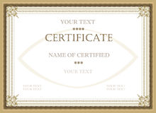 Free Certificate Of Award Royalty Free Stock Photography - 19242937