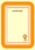 Certificate Royalty Free Stock Images