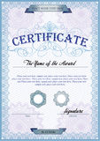 Certificate template Royalty Free Stock Photo