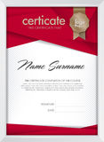 Certificate Royalty Free Stock Photos