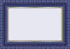 Certificate Template - dark blue color Stock Photos