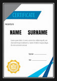 Certificate template,diploma,Letter size ,vector. Vertical certificate template,diploma,Letter size ,vector Royalty Free Stock Photo