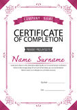 Certificate template,diploma,Letter size ,vector Stock Images