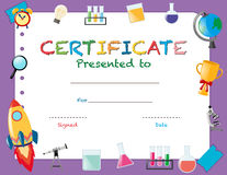 Certification template for science award illustration 66390417 similar images yelopaper Images