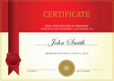 Certificate template Royalty Free Stock Photography