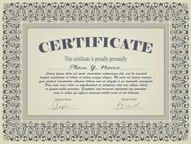 Certificate template Stock Photos