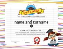 Certificates template. Stock Photos