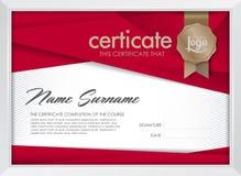 certificato Fotografie Stock