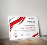 certificato Fotografie Stock Libere da Diritti