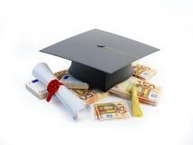 Certificato andante o addestramento di prezzi illustrazione di stock
