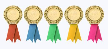 Certificato in bianco Fotografie Stock Libere da Diritti