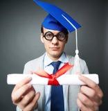Certificato di graduazione Fotografia Stock