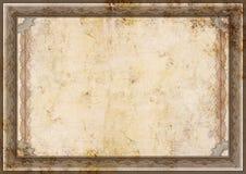 Certificato di Grunge Fotografie Stock