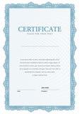 Certificato moderno Diplomi del modello, valuta Fotografia Stock Libera da Diritti