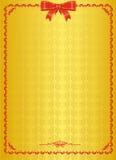 Certificato o spazio in bianco ufficiale dell'inaugurazione Illustrazione di Stock