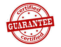 Certified guarantee Stock Photo